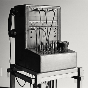 Restored and modified Ericsson switchboard